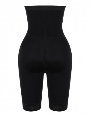 Hot Sale Black High Waist Hook Front Butt Lifter Shaper Curve Creator