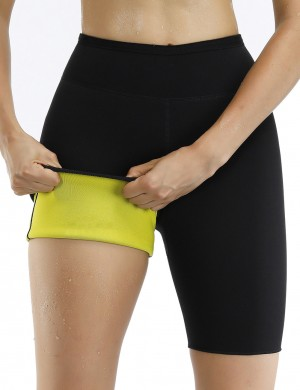 Perfect Black High Waist Neoprene Shapewear Pants Underwear