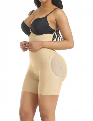 Good Skin Color Butt Enhancer Panty Adjustable Straps Stretch