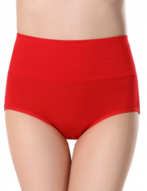Elasticity Red Period Briefs Leak-Proof Pure Color Cheap Online