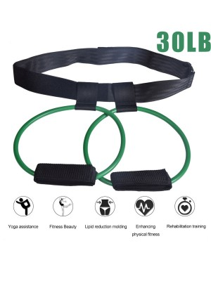 Latex Training Leg Strength Resistance Bands For Fitness