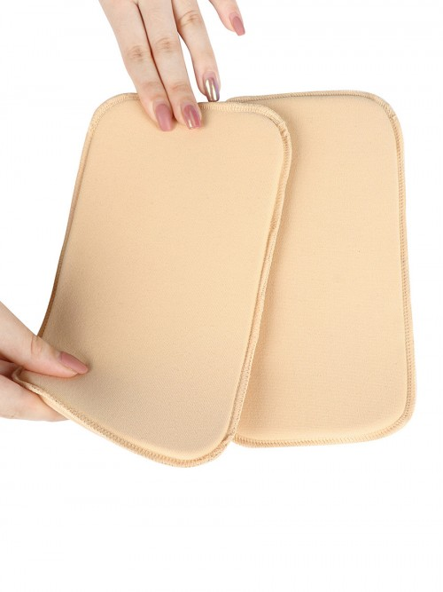 Curvy Skin Color Solid Color Abdomen Compression Board Workout