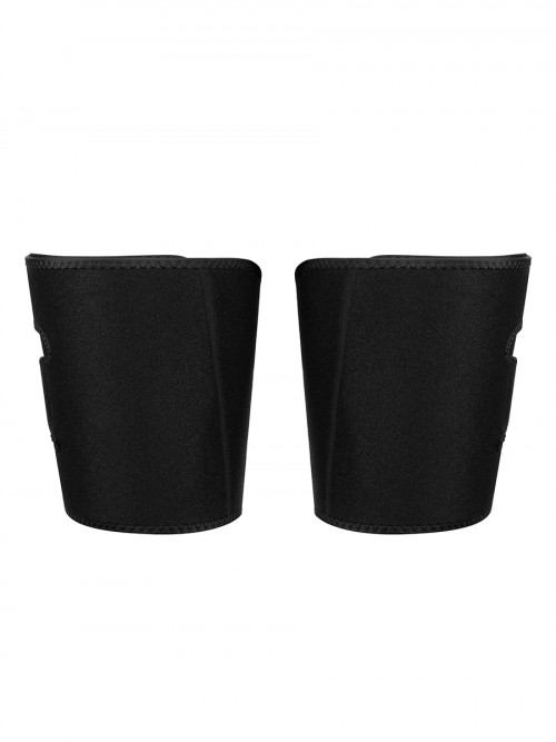Miracle Black 1 Pair Neoprene Thigh Trimmer Shaping Bandage