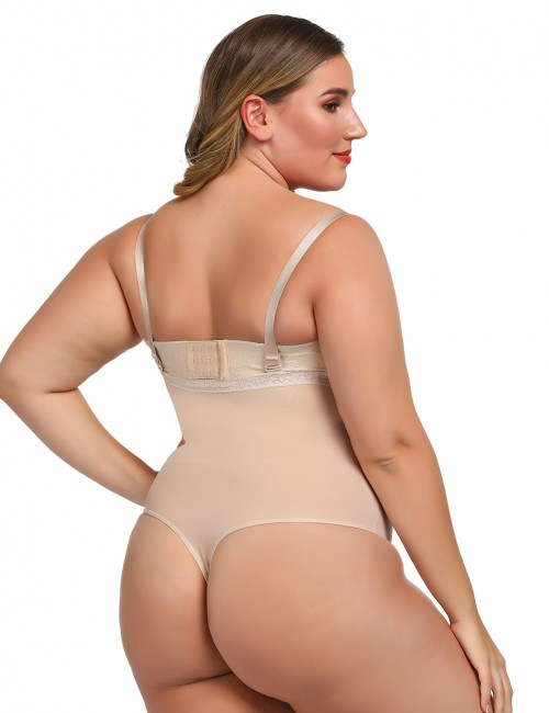 Exquisitely Nude Adjustable Straps Full Body Shapers Underbust