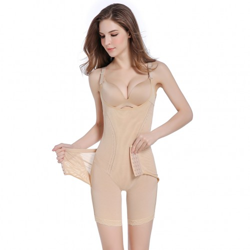 Tummy Nude Push Up Seamless Bodysuit Butt Lifter Tight Fitting