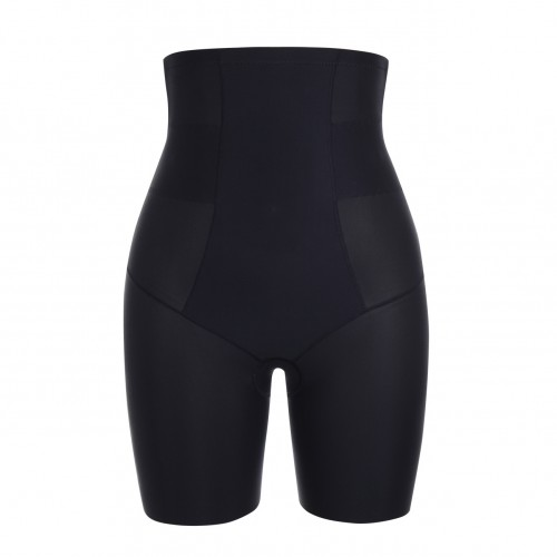 Compression Silhouette Black High Waist Large Butt Lifter Energy Stone