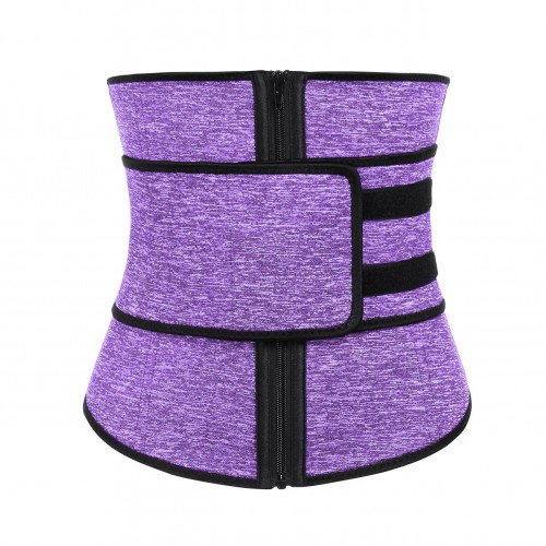 7 Steel Bones Fitness Neoprene Waist Trainer With Belt