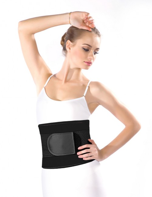 Sensual Curves 4 Bones Smooth Abdomen Latex Waist Trimmer