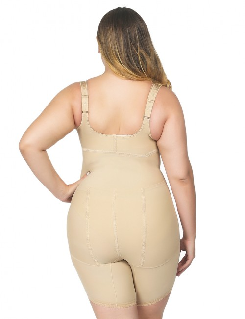 Slimming Belly Nude Big Push Up Bodysuit Compression Silhouette Butt Enhancer