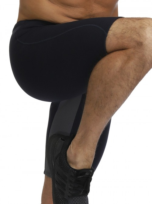 Highest Compression Black Neoprene Big Size Shapewear Pants High Rise