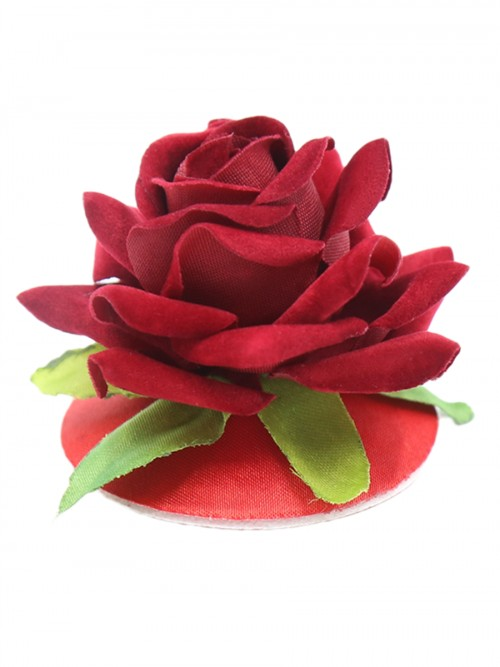 Ecstasy Red Rose Flower Breast Stickers Reusable Sale Online