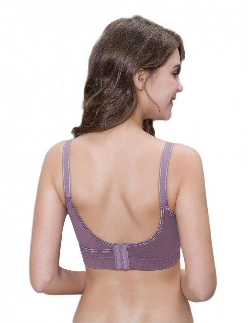 Steal Your Heart Front Opening Nursing Bras 4 Rows Hooks