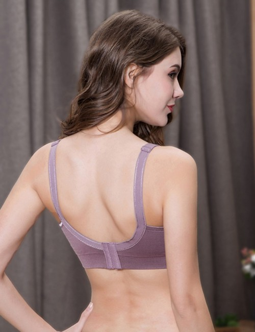 Voluptuous 3-Pack Free Wire Nursing Bra Clip Down Close Fitted