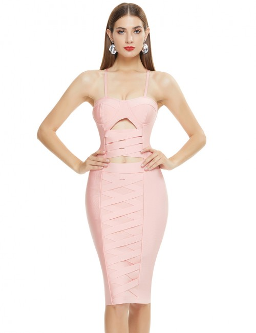 Pink Bodycon Dresses