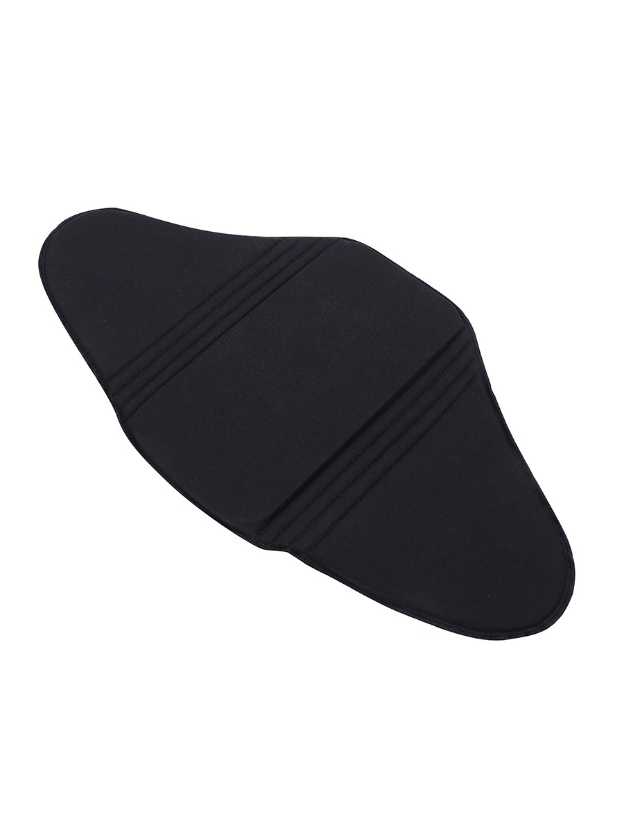 Comfortably Black Post Surgery Compression Board Solid Color Waist Trimmer