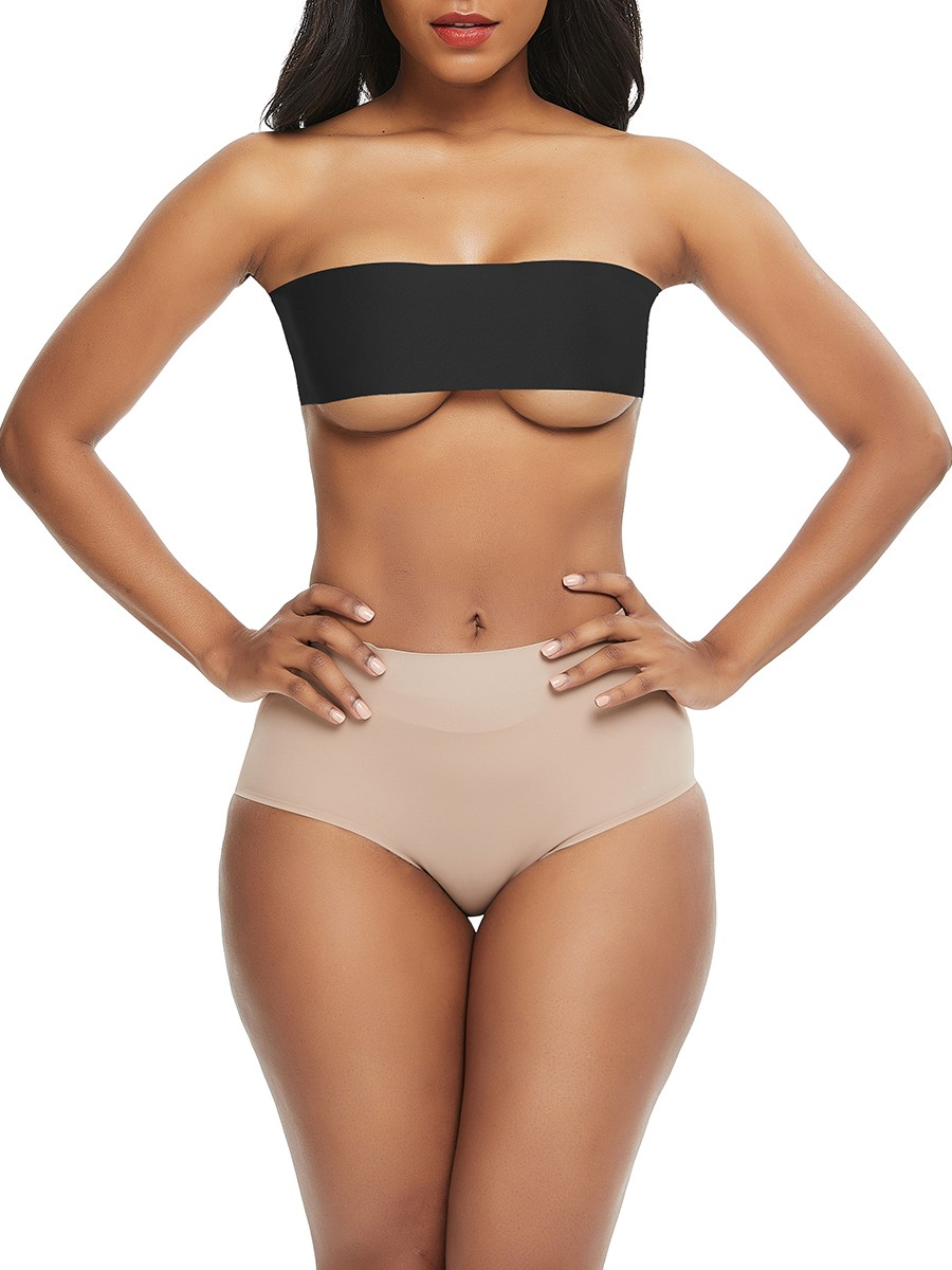 Strapless Uncut Adhesive DIY Boob Lift Tape Compression Silhouette