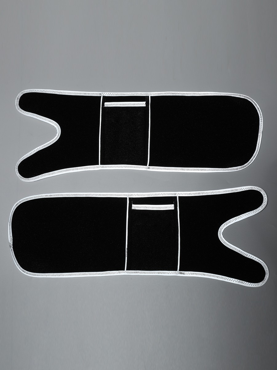 Light Gray Reflective Neoprene Arm Shapers With Pocket High Power