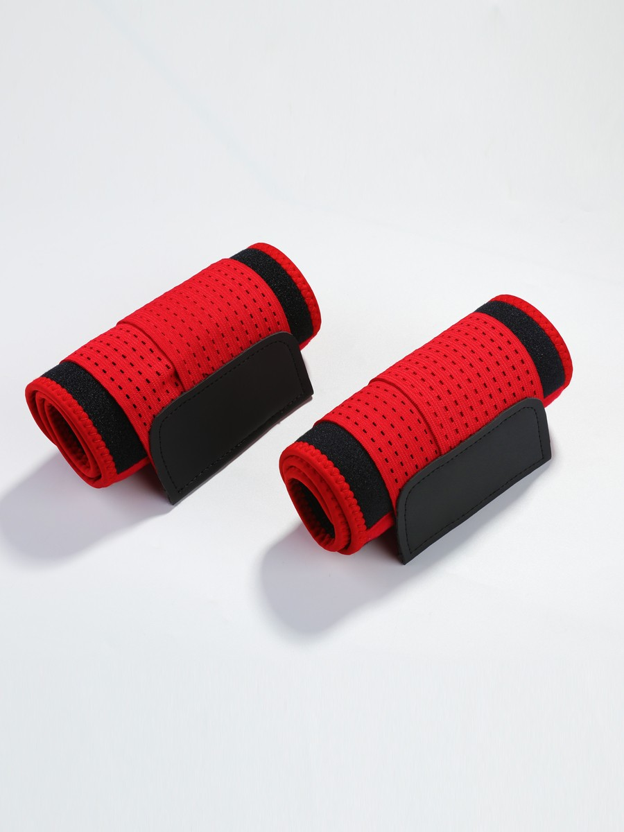 Red Neoprene Arm Shaper With Elastic Bands Perfect Curves
