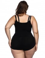 Tummy Control Black Butt Lifting Body Shapewear Cami Straps Fitness