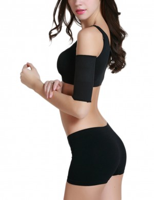 Neoprene Arm Slimmer Superfit Everyday Black Improve Endurance