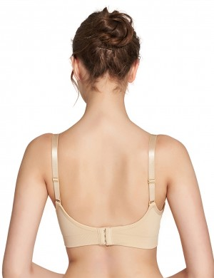 Nude Hooks And Eyes Nursing Bras Open Front