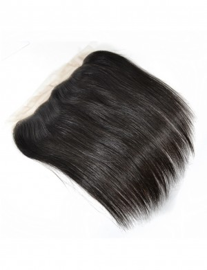 Straight Lace Frontal Brazilian Remy Human Hair Free Part 13x4