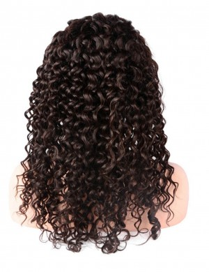 14-28 Inch 360 Lace Wig Pre-Plucked With Baby Hair Deep Curly