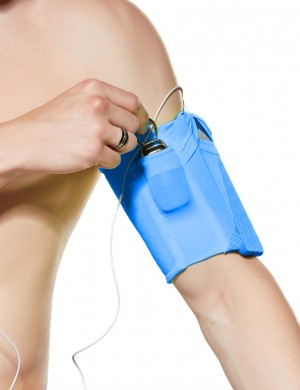 Perfect Non-slip Blue Mobile Phone Arm Bag Reflect Light Best Selling