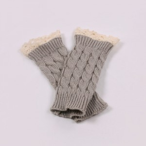 Multi Colors Winter Lace Warm Gloves