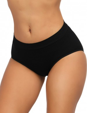 Shaping Black Seamless Butt Lifter Panty Warm Uterus Waist Slimmer