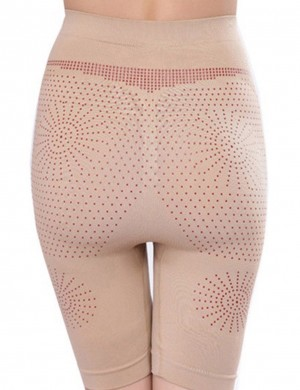 Slim Stomach Skin Seamless Magnet Therapy Booty Lifter Boyshort Magicwear