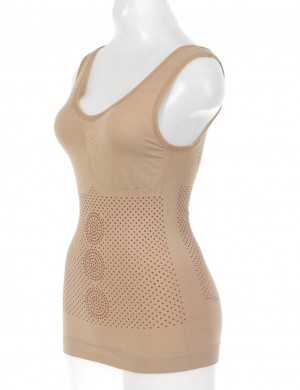 Refine Skin U Neck Sleeveless Cami Shaper Seamless Tummy Training
