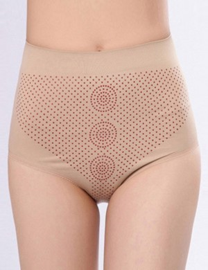 Faddish Skin Plain Tight High Waist Booty Lift Panty Intant Shaping