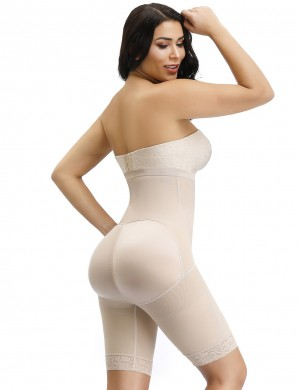 Desirable Designed Skin Butt Enhancer Shaper Plain High Rise Higher Power