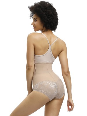 Essential Nude Color Seamless Butt Enhancer Floral Paint Medium Control