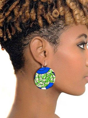 Attractive African Style Earring Fashion Charming Leisure Time
