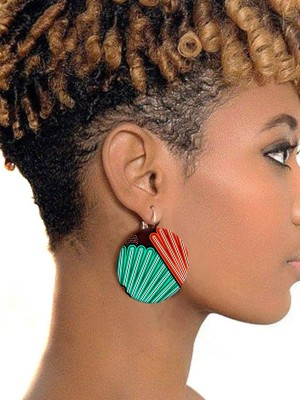 Hot Selling African Earrings Elegant Fashion Charming