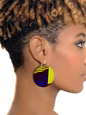 Cheap Clearance African Earrings Trendy Popular