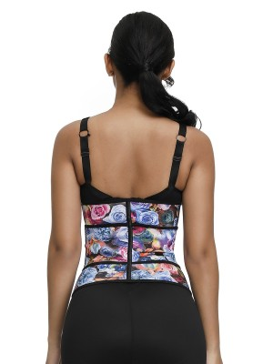 Breathable 7 Steel Bones Sticker Waist Trainer Body Shapewear