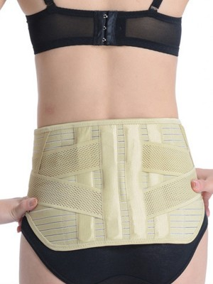 Nude Waist Slim Belt With A Removable Self-Heating Belt
