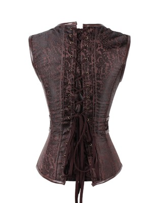 PU Custom Made Tight Corsets Vest