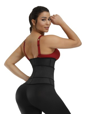 Perfect-Fit Black Magic Sticker Rubber Waist Cincher Compression