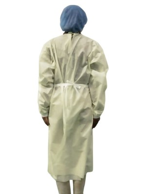 Safe Disposable Protective Isolation Suit Waterproof