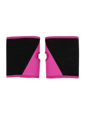 Rose Red Neoprene 2 Pieces Arm Shapers Patchwork Hourglass