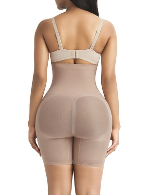 Close Fitting Complexion High Waist Shapewear Shorts Seamless