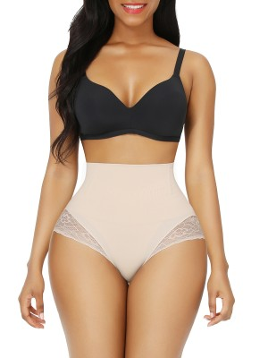 Nude High Waist Butt Lifter Large Size Sameless Medium Control