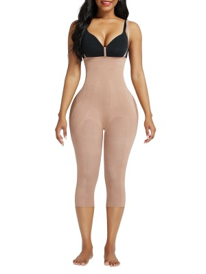 Nude Seamless Adjustable Straps Full Body Shaper Good Elastic