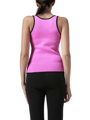 Queen Size Tummy Control Neoprene Body Seamless Shaper Vest Sweat Bursting
