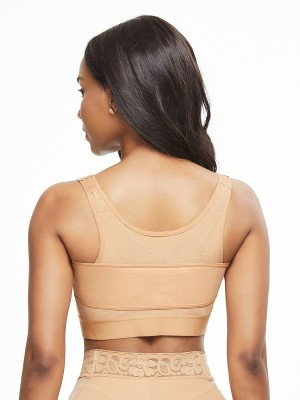 Abdominal Control Skin Color Solid Color Shapewear Bar Large Size