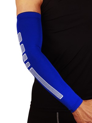 Surfing Blue Non-Slip Insert Arm Sleeves Barcer Casual Clothes